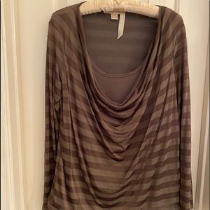 Michael Kors L long sleeve blouse